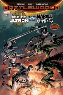 Age of Ultron Vs. Zombies #3