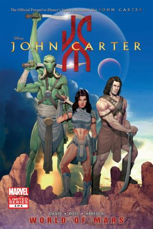 John Carter: The World of Mars (2011) #4
