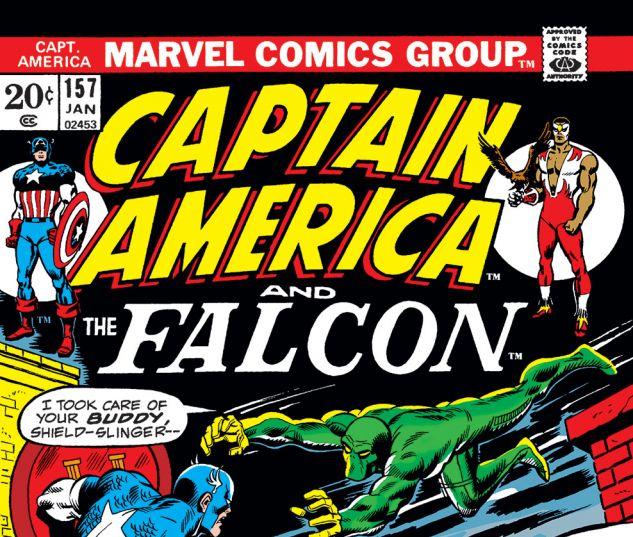 Captain America (1968) #157