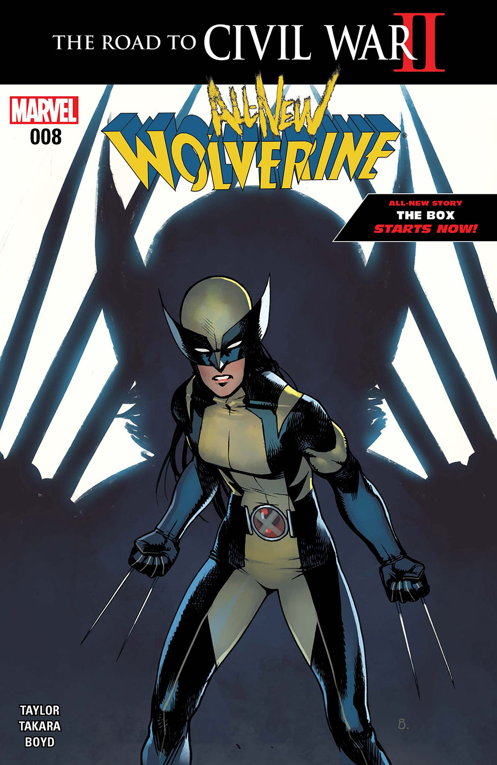 All-New Wolverine (2015) #8