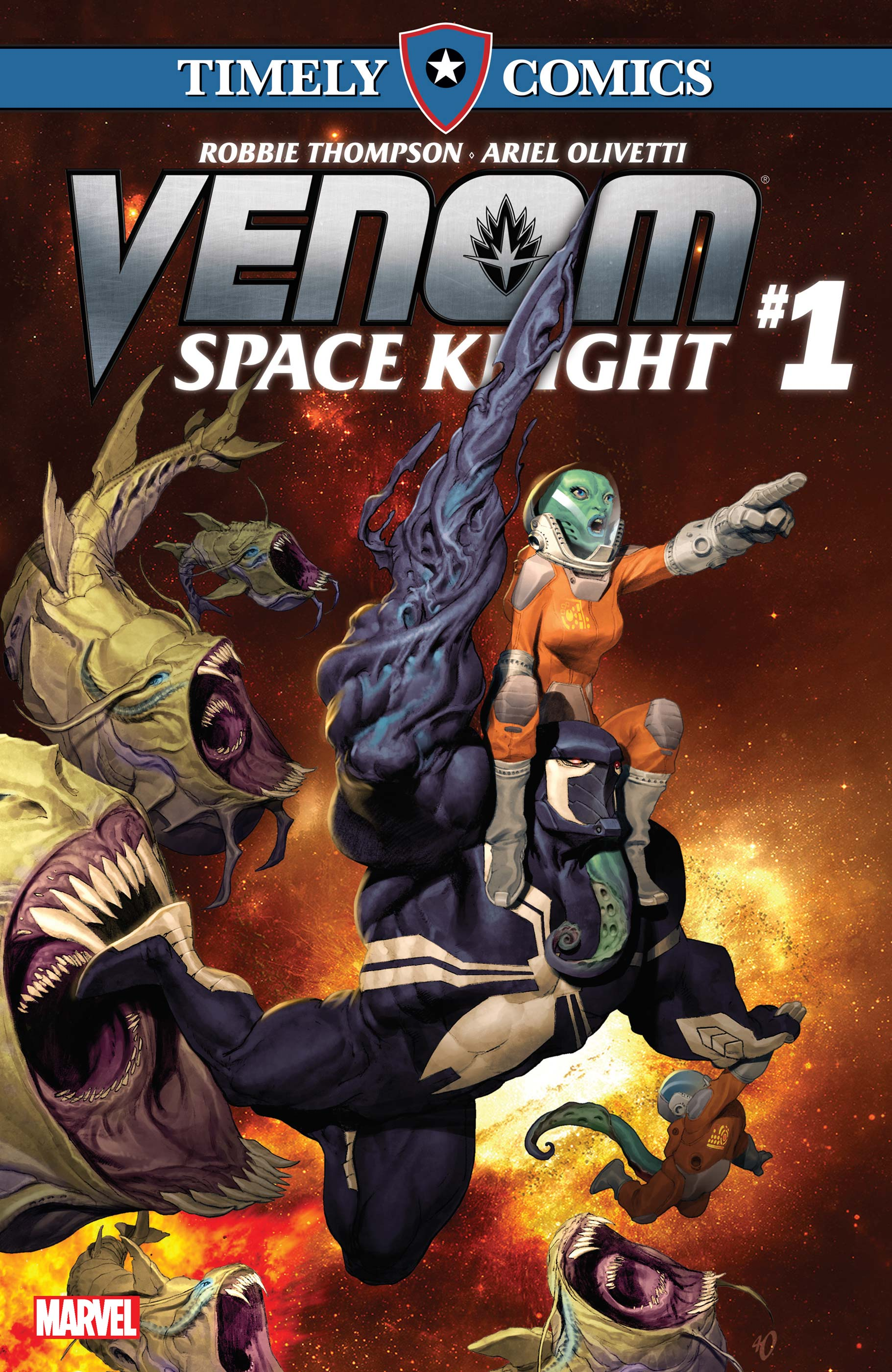 Timely Comics: Venom: Space Knight (2016) #1
