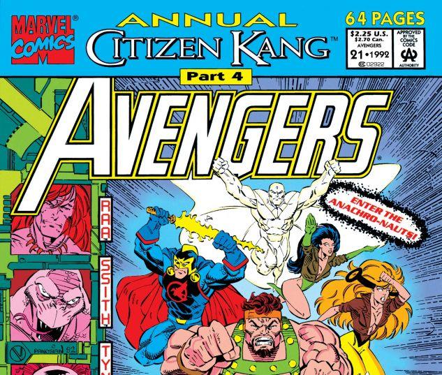 Avengers Annual (1967) #21