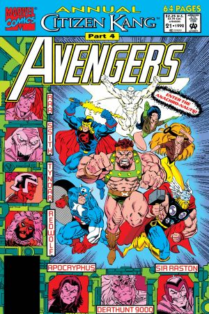 Avengers Annual #21