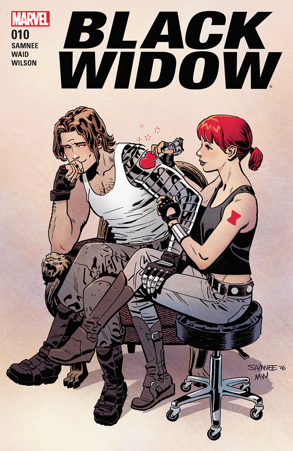 Black Widow (2016) #10