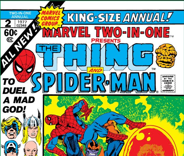 cover to Marvel Two-in-One Annual (1976) #2