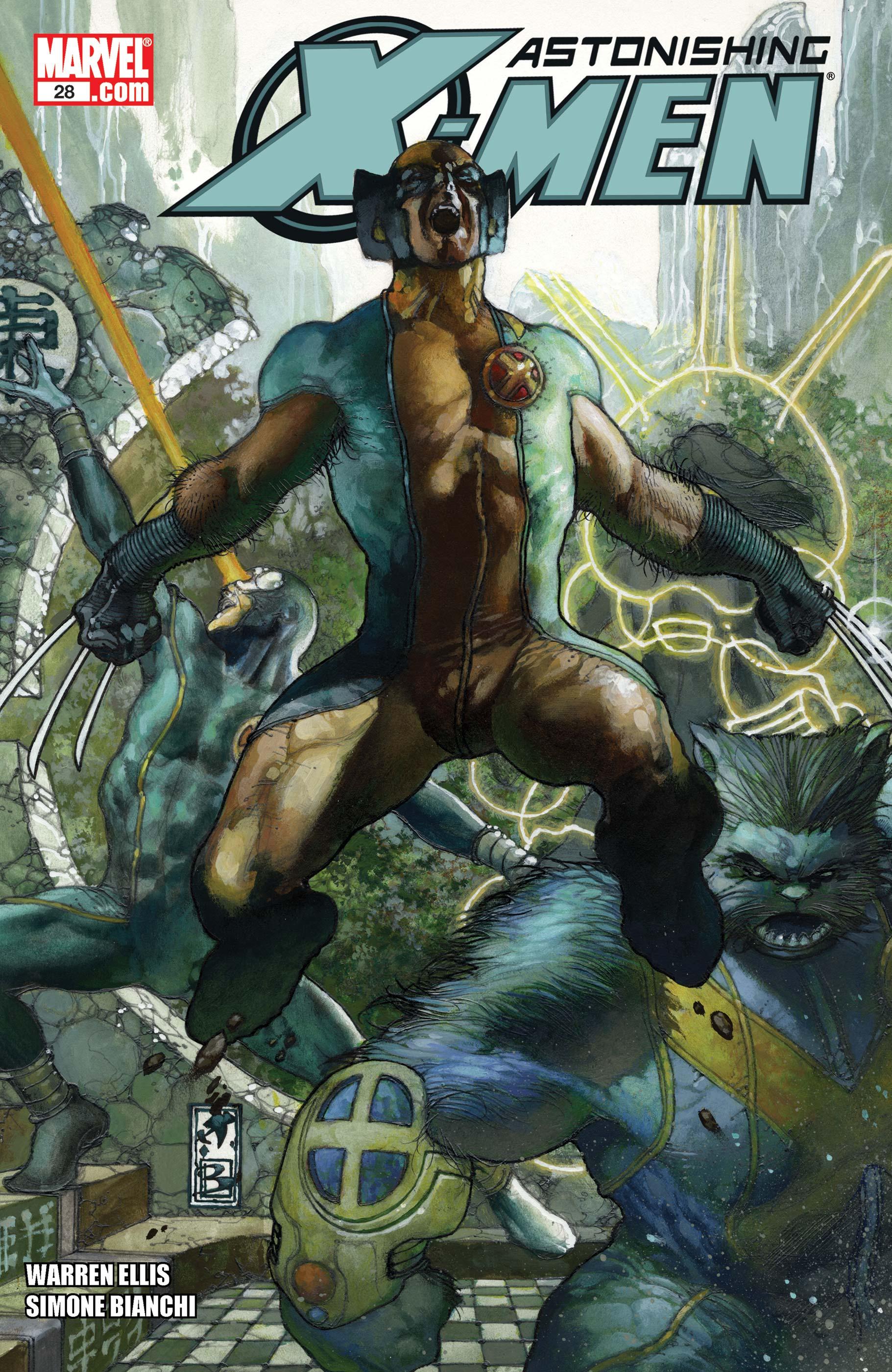 Astonishing X-Men (2004) #28