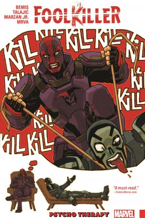 FOOLKILLER: PSYCHO THERAPY TPB (Trade Paperback)