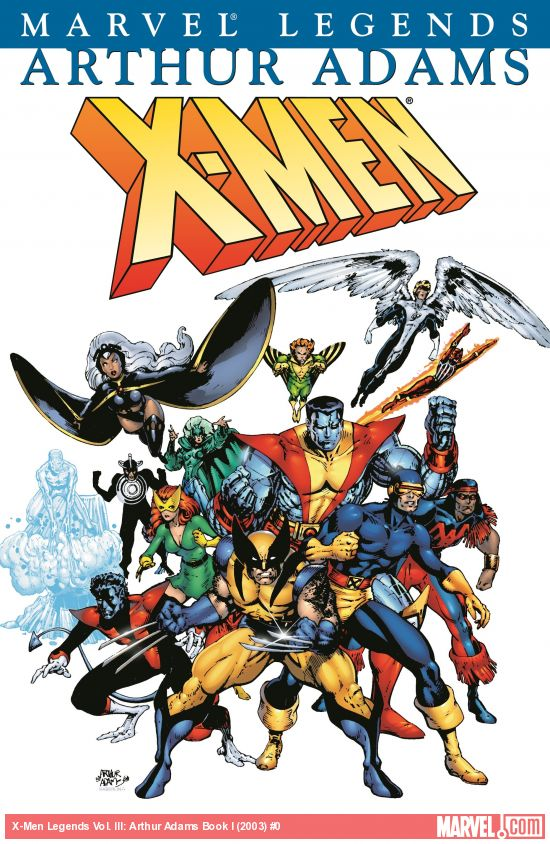 X-Men Legends Vol. 3: Art Adams Book I (Trade Paperback)