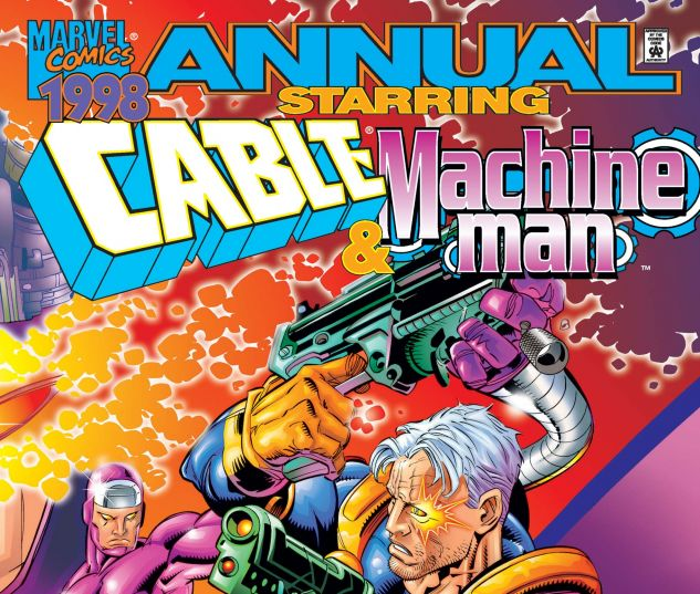 Cover for Cable Machine Man Annual