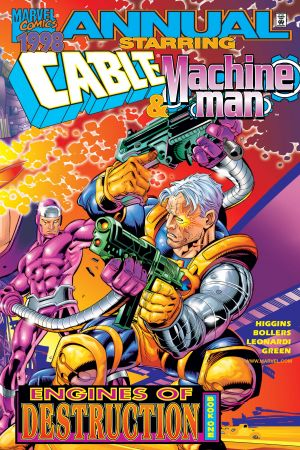 Cable/Machine Man Annual (1998) #1