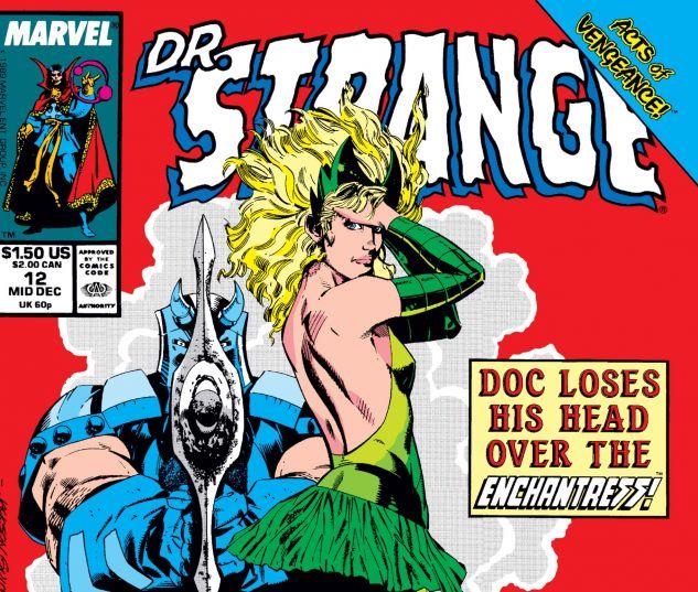 Cover for Doctor Strange, Sorcerer Supreme 12