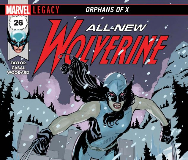 Cover for ALL-NEW WOLVERINE 26