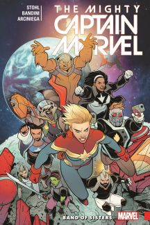 The Mighty Captain Marvel Vol. 2: Band of Sisters (Trade Paperback)