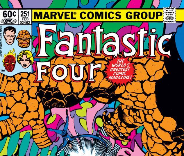 Fantastic Four (1961) #251