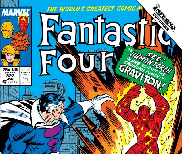 Fantastic Four (1961) #322