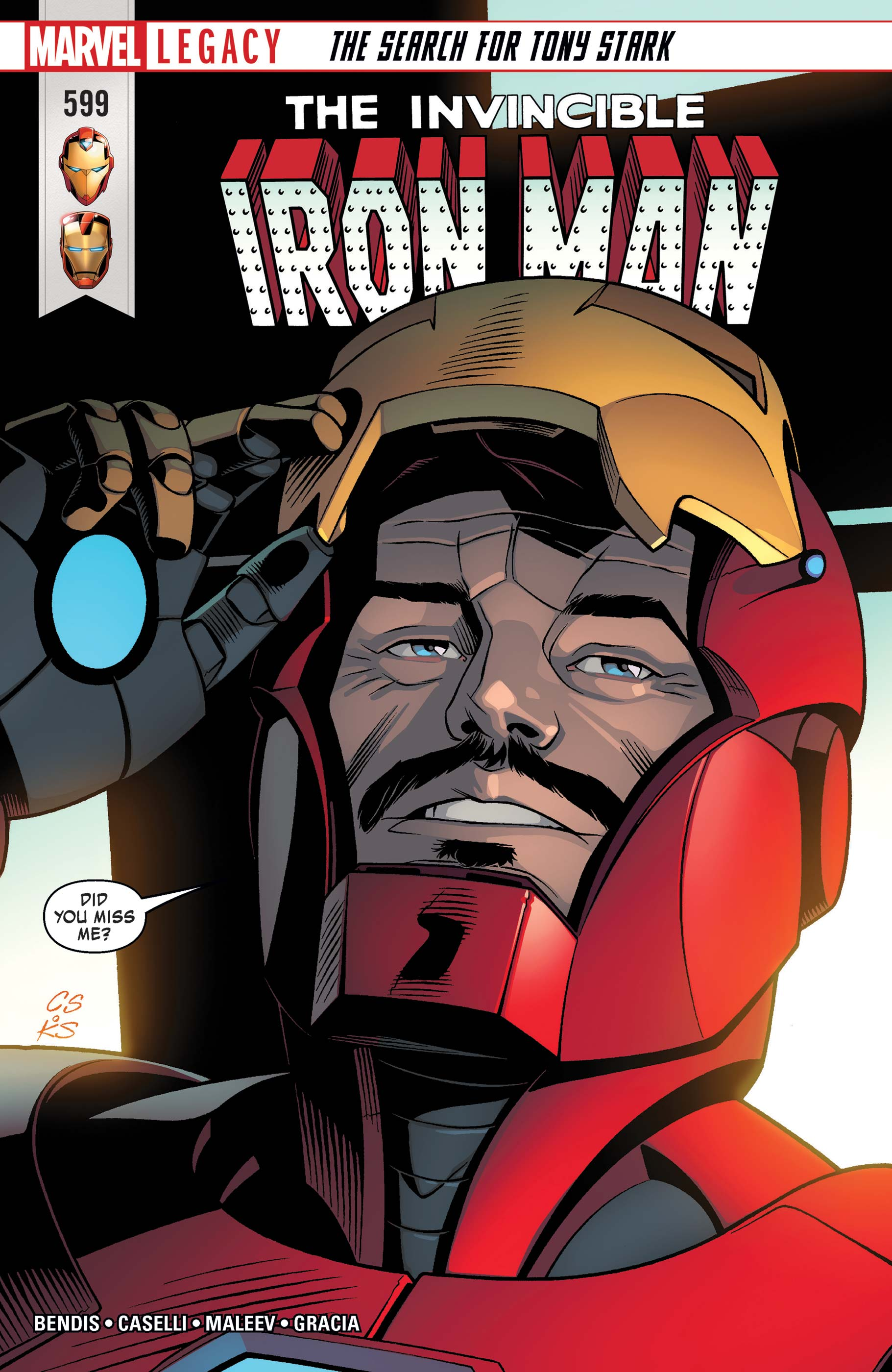 Invincible Iron Man (2016) #599