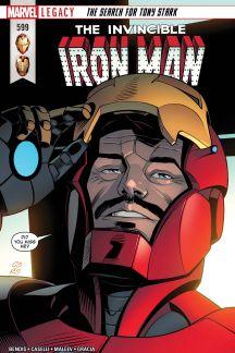 Invincible Iron Man (2016) #599