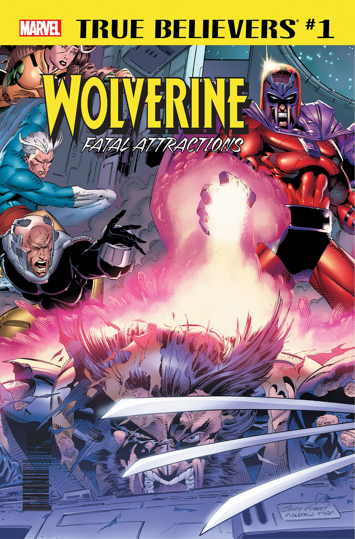 True Believers: Wolverine - Fatal Attractions (2018) #1