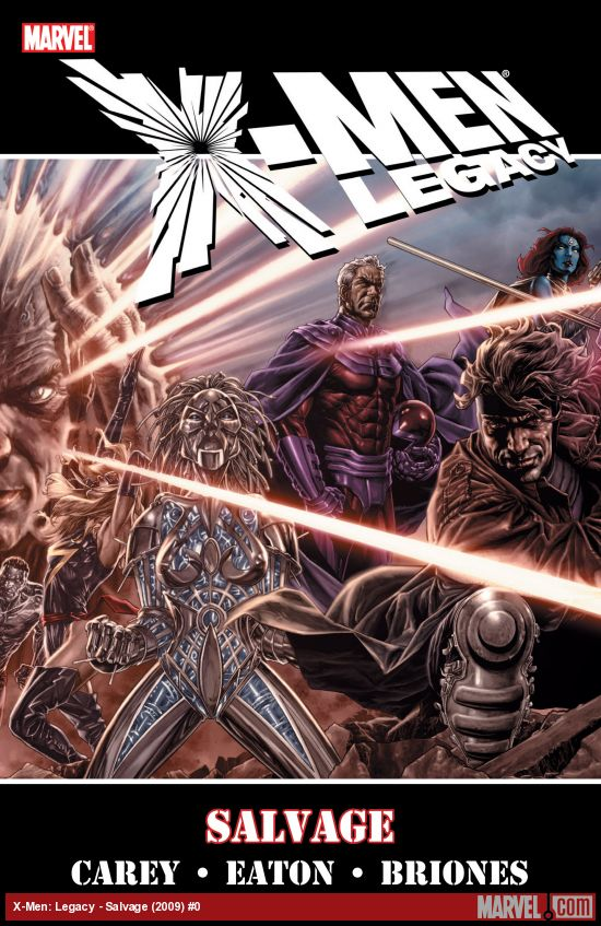 X-Men: Legacy - Salvage (Trade Paperback)