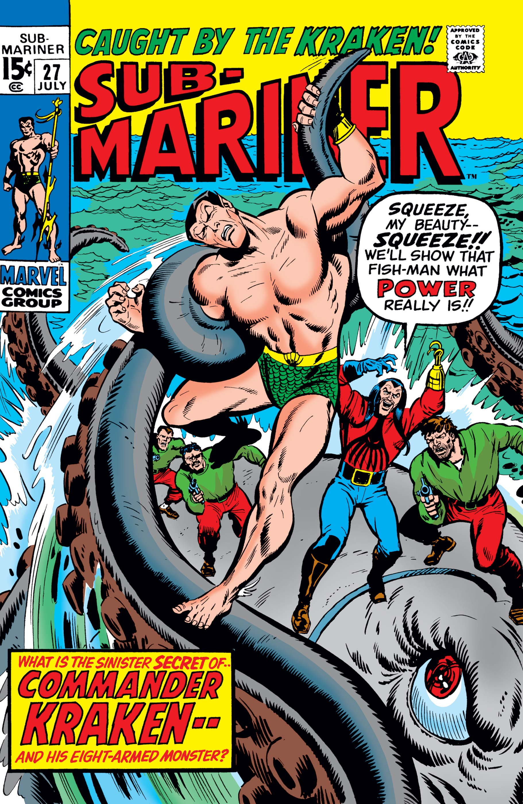 Sub-Mariner (1968) #27