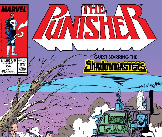 cover from Punisher (1987) #24