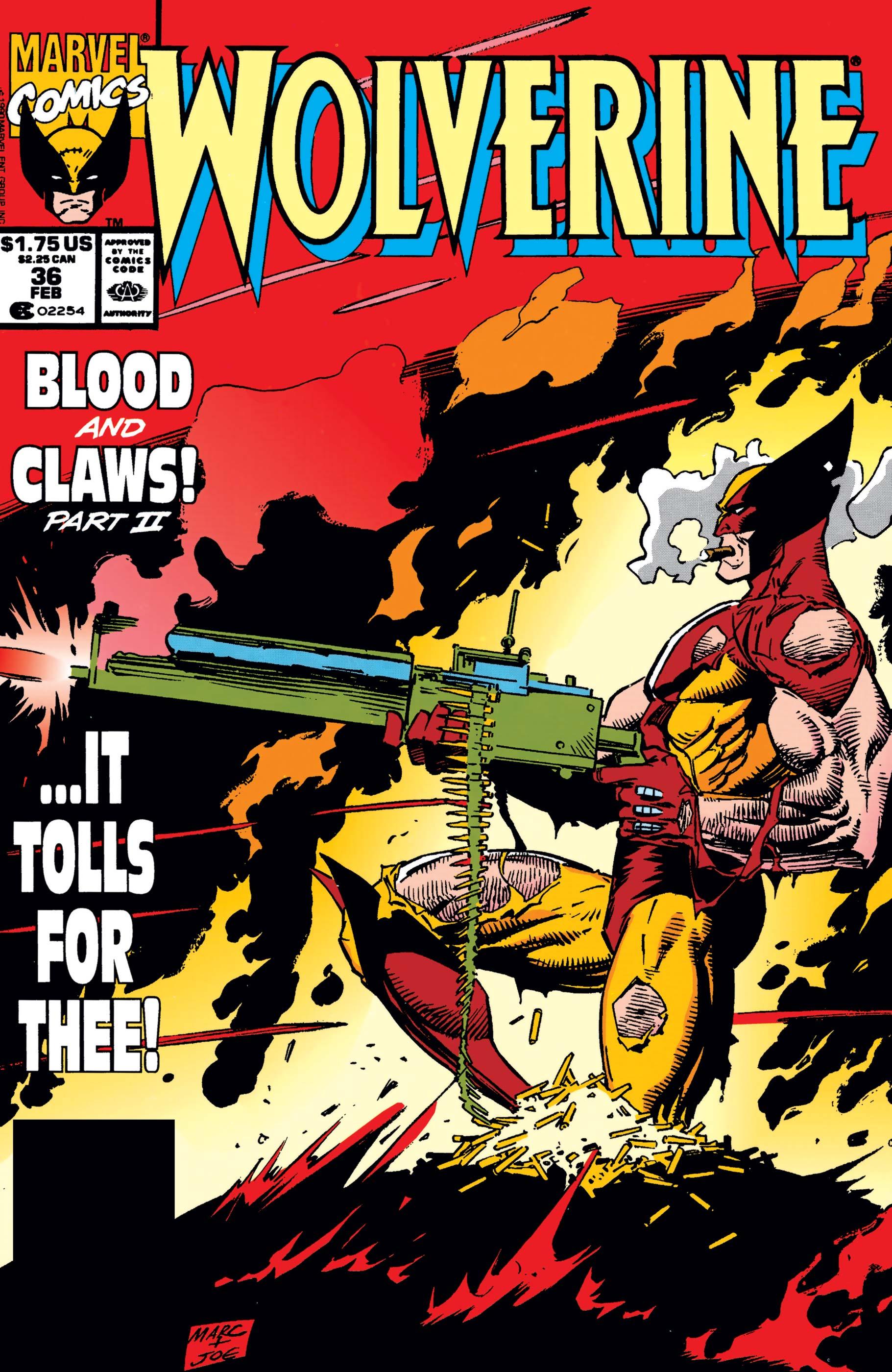 Wolverine (1988) #36