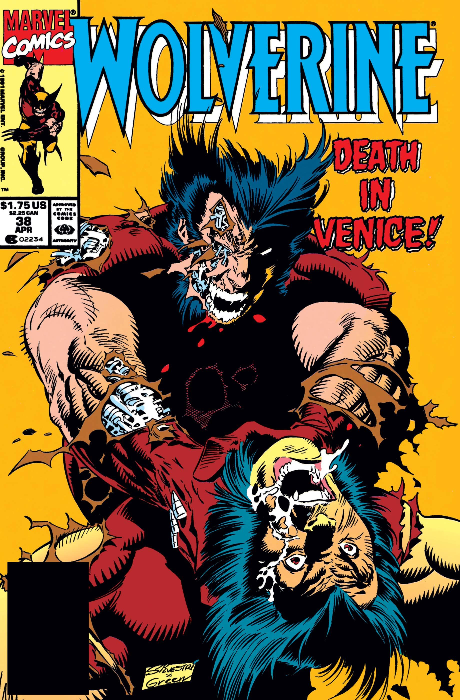 Wolverine (1988) #38