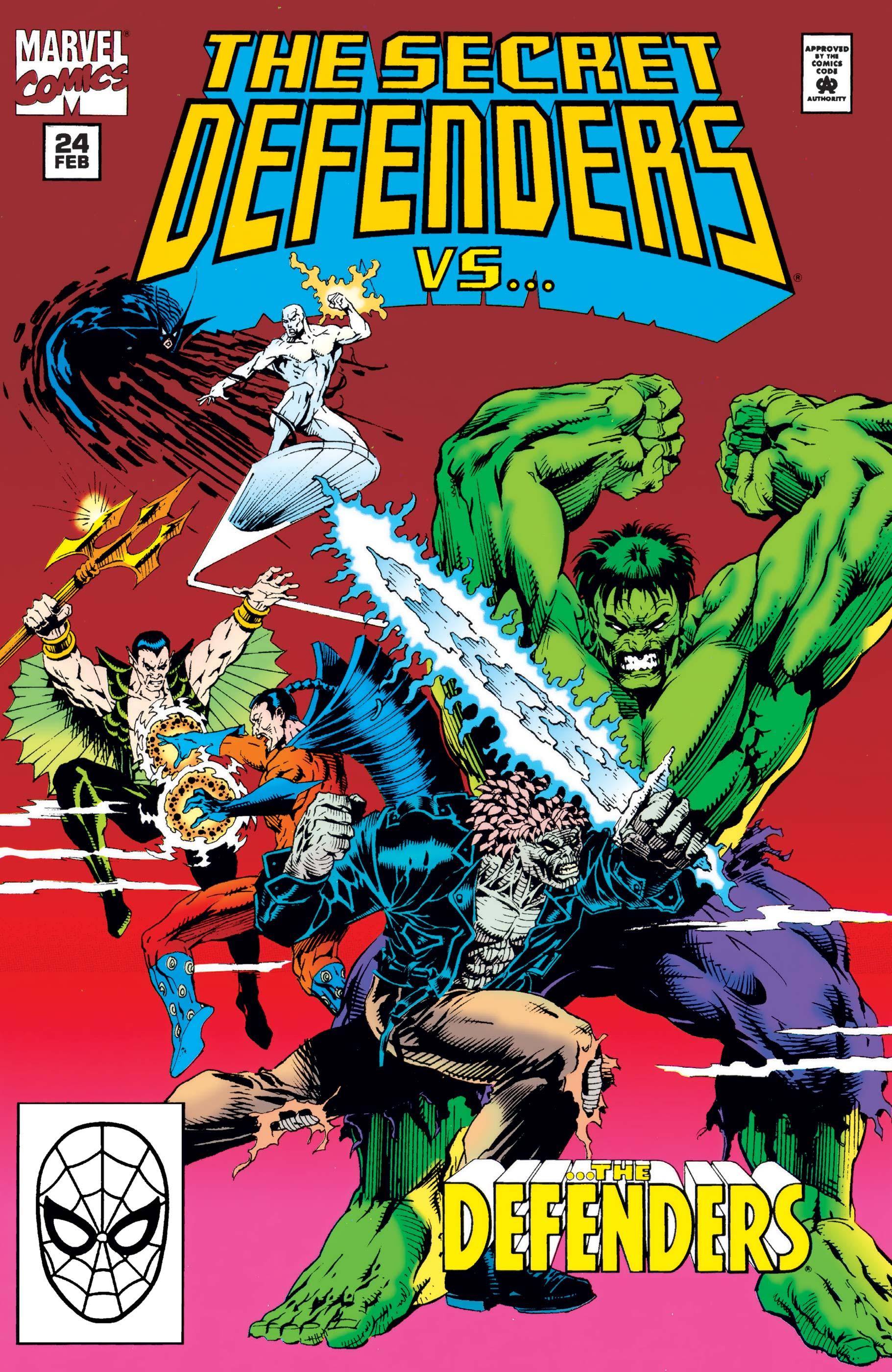 Secret Defenders (1993) #24