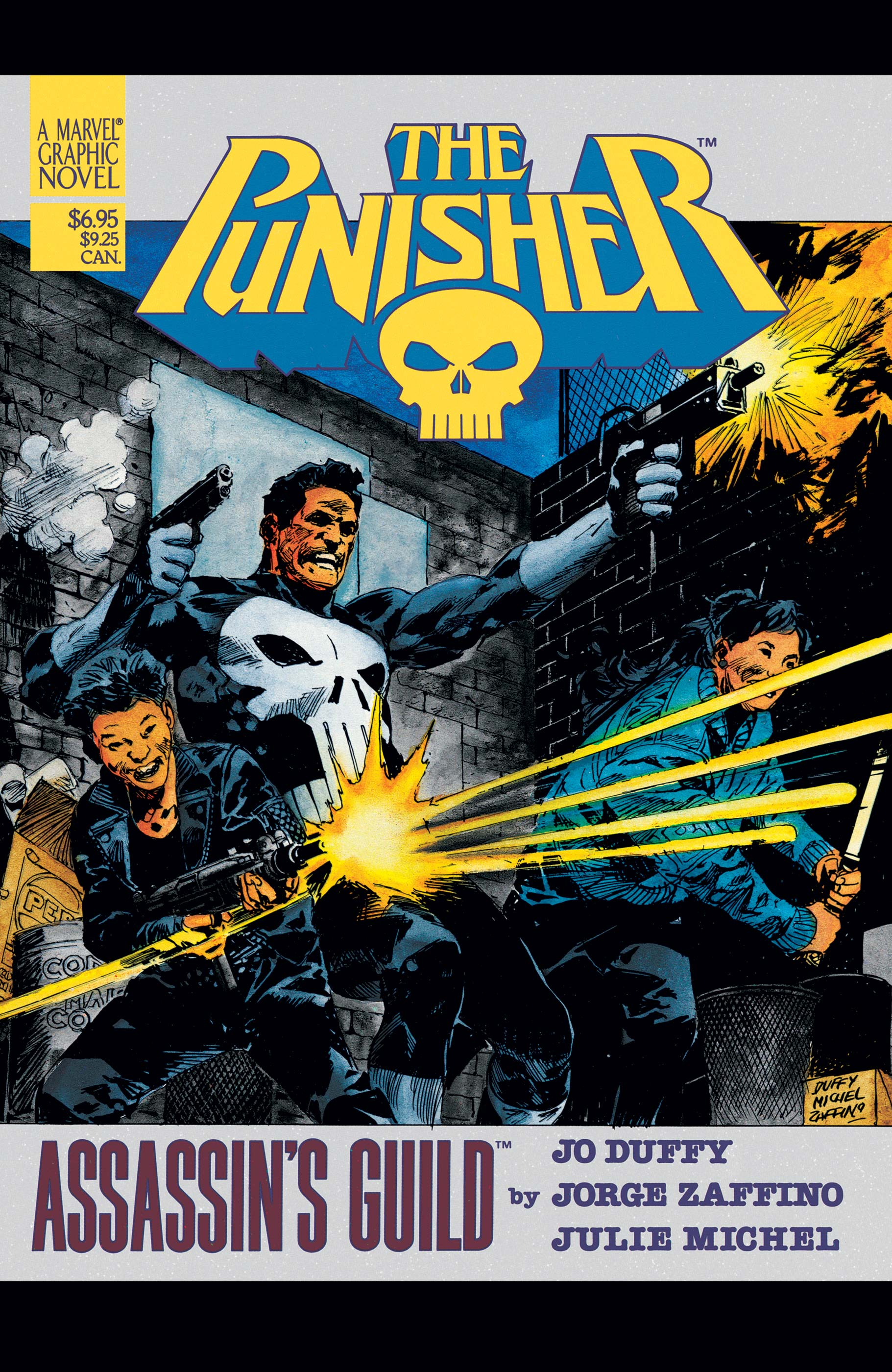 The Punisher: Assassins' Guild Graphic Novel (1988) #1