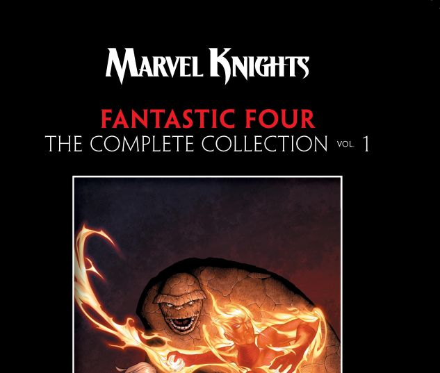 cover from MARVEL KNIGHTS 4: THE COMPLETE COLLECTION VOL. 1 TPB (2019) #1