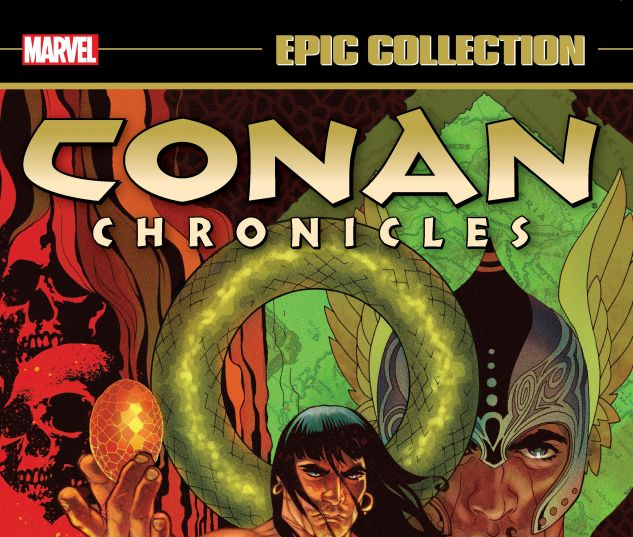 cover from CONAN CHRONICLES EPIC COLLECTION: THE HEART OF YAG-KOSHA TPB (2019) #1