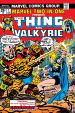 Marvel Two-in-One (1974) #7 cover