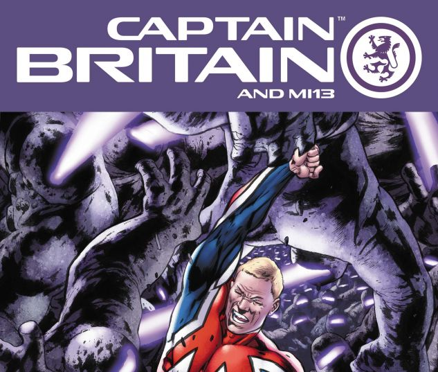 CAPTAIN BRITAIN AND MI: 13 (2008) #8