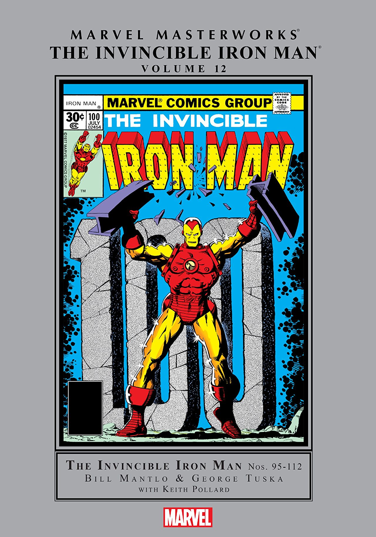 Marvel Masterworks: The Invincible Iron Man Vol. 12 (Hardcover)