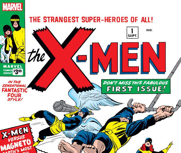 X-MEN 1 FACSIMILE EDITION #1