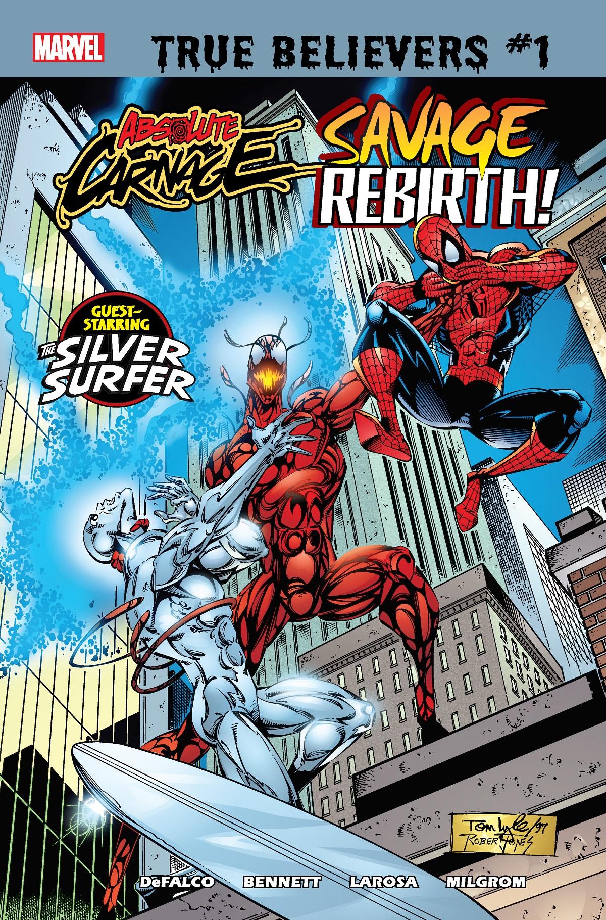 True Believers: Absolute Carnage - Savage Rebirth (2019) #1