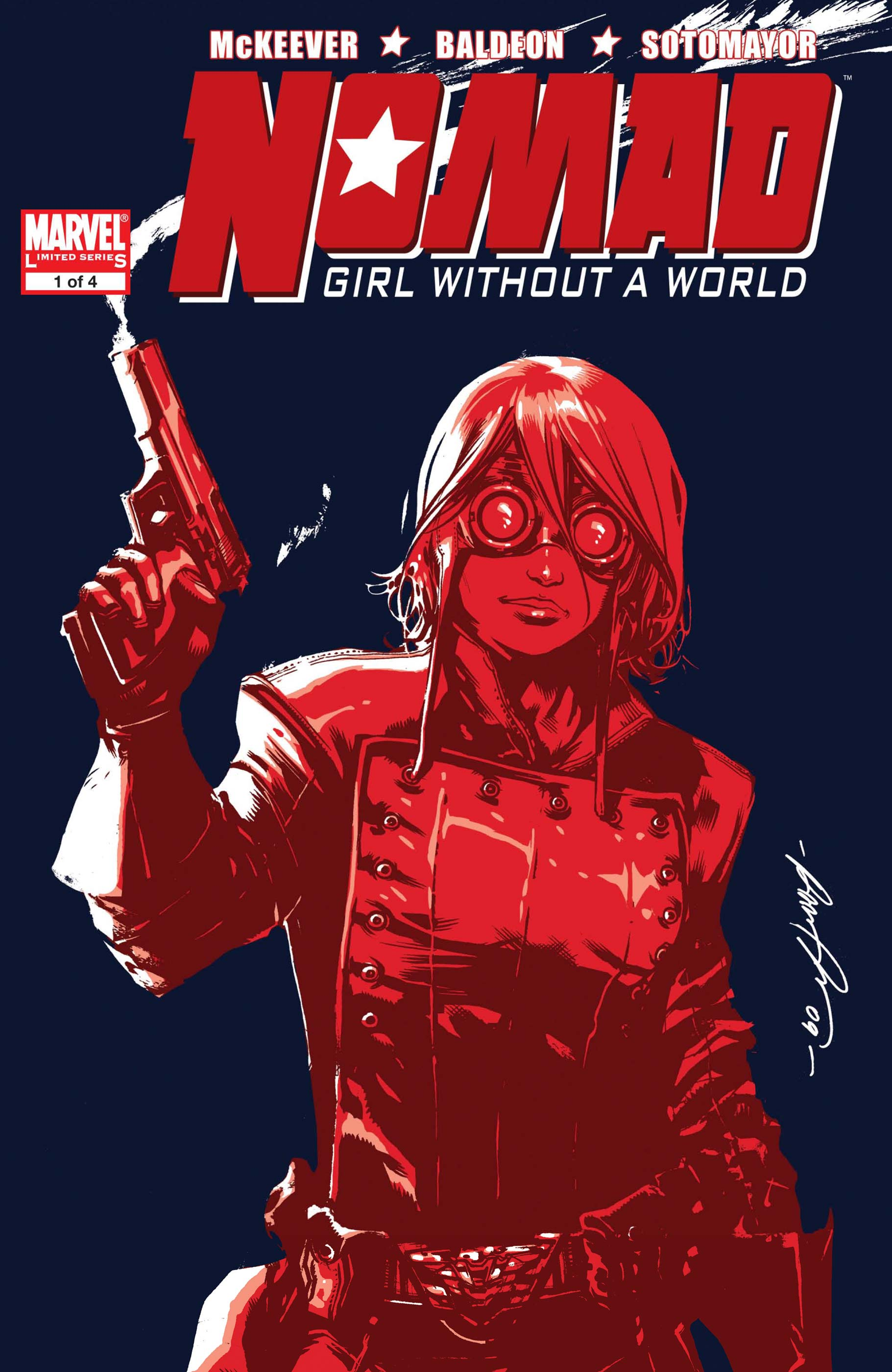 Nomad: Girl Without a World (2009) #1