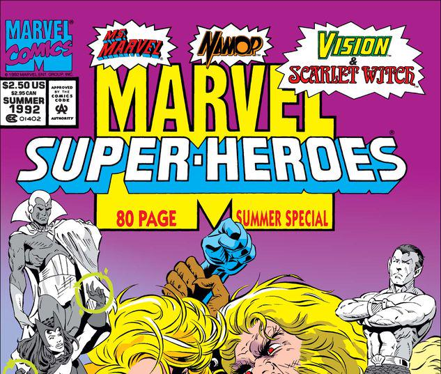 Marvel Super Heroes #10
