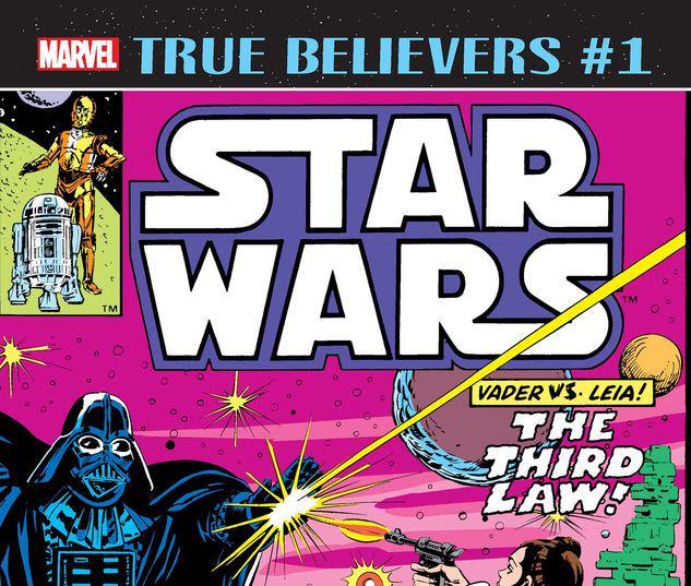 TRUE BELIEVERS: STAR WARS - VADER VS. LEIA 1 #1