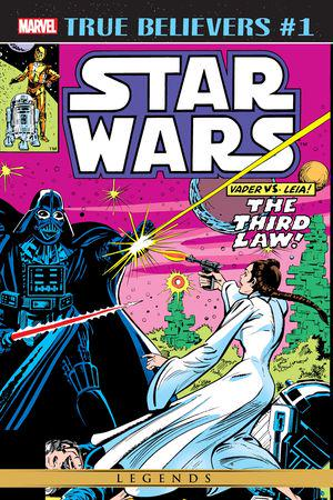 True Believers: Star Wars - Vader vs. Leia #1