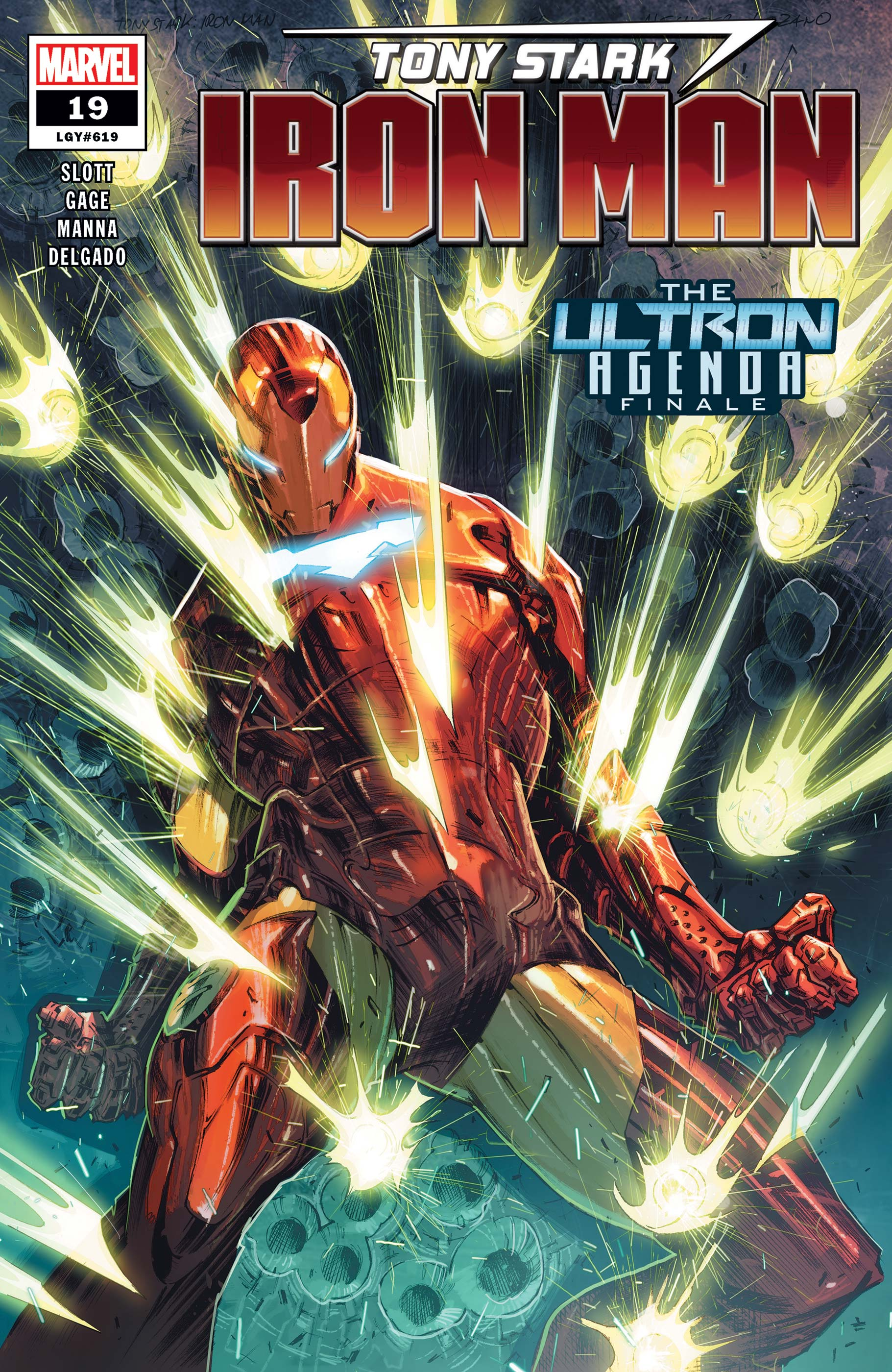 Tony Stark: Iron Man (2018) #19