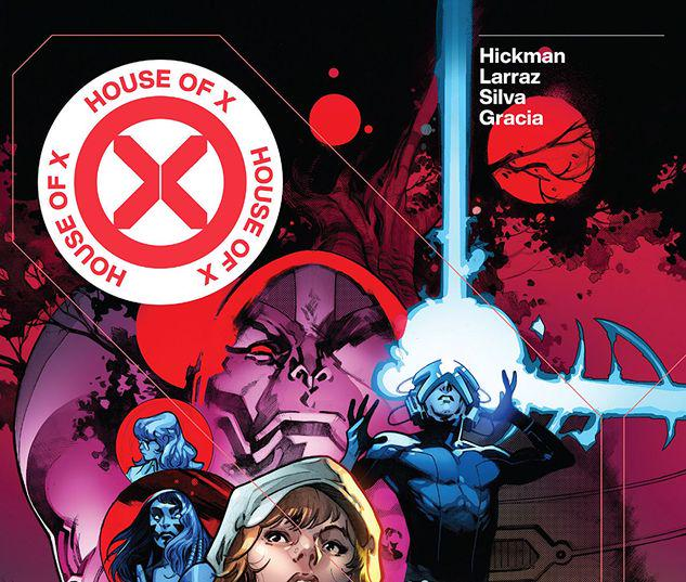 HOUSE OF X/POWERS OF X HC LARRAZ COVER #1