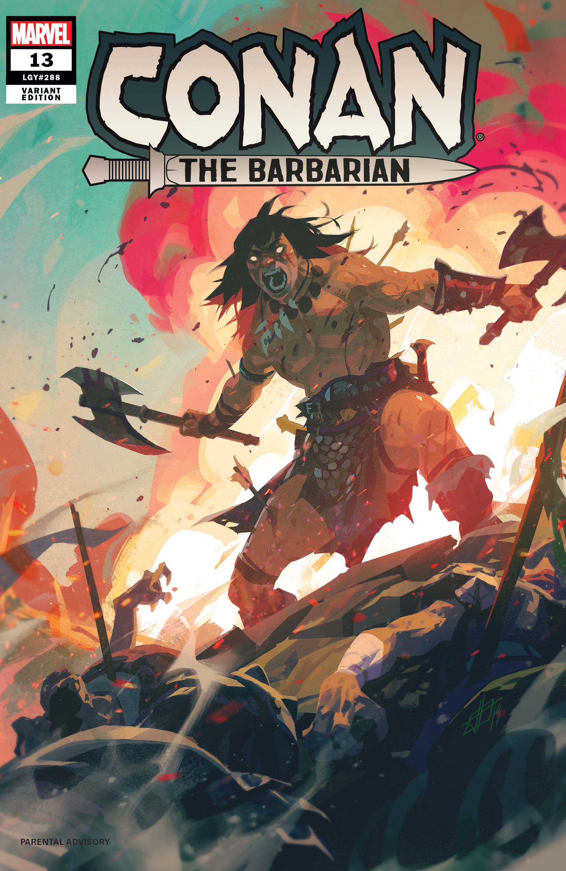 Conan the Barbarian (2019) #13 (Variant)