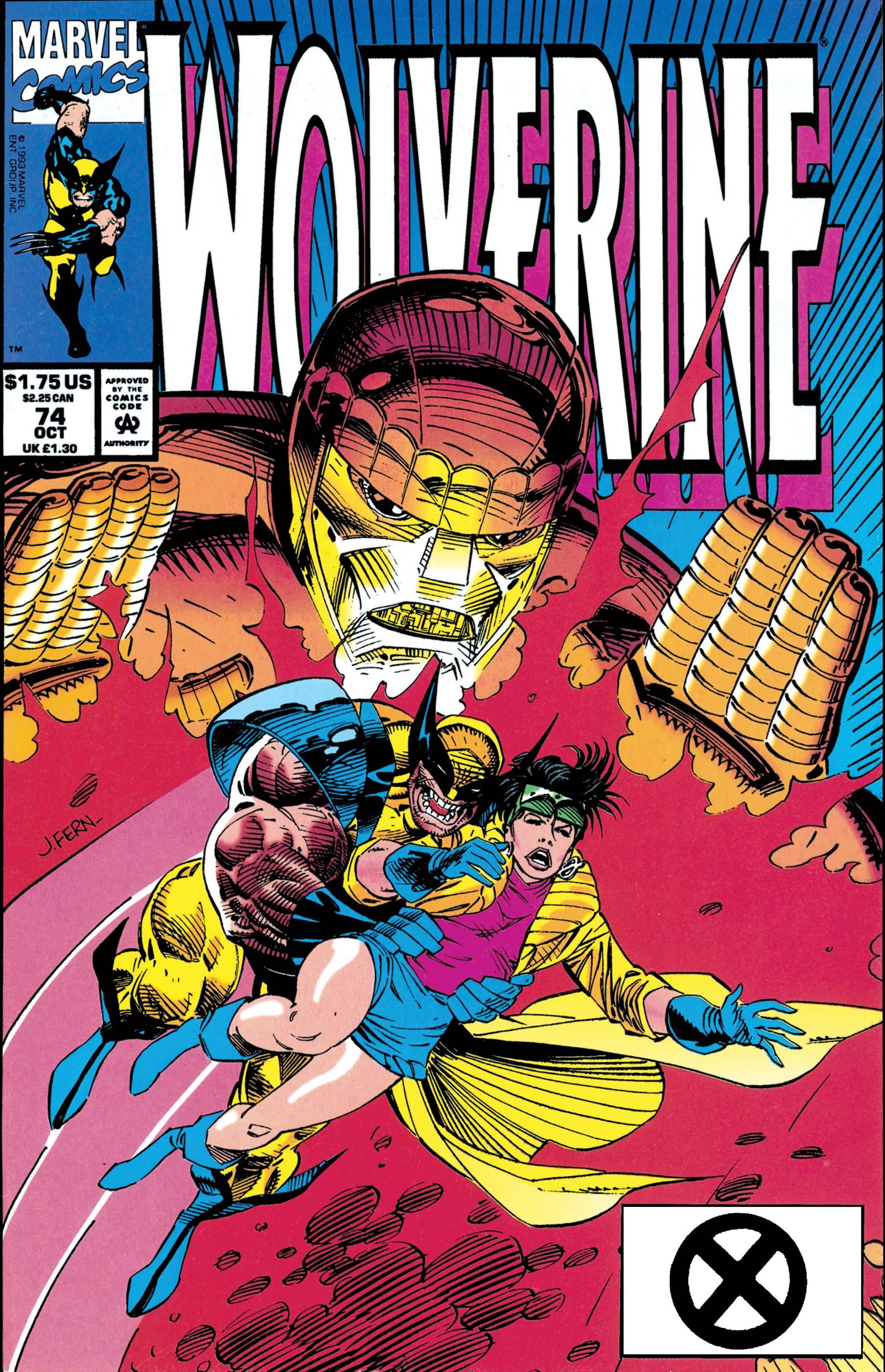 Wolverine (1988) #74