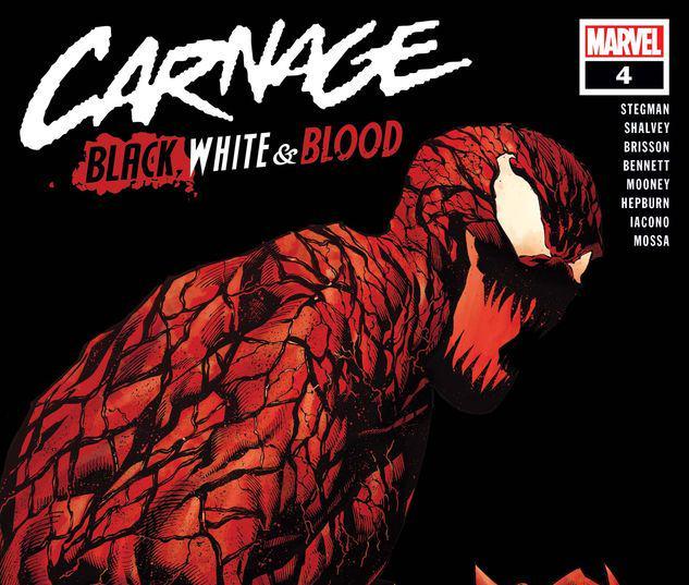 Carnage: Black, White & Blood #4