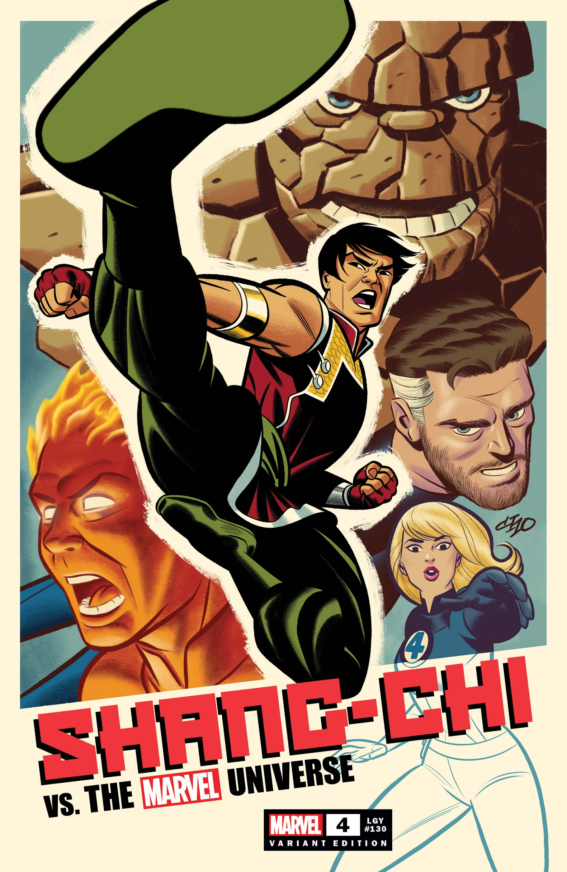 Shang-Chi (2021) #4 (Variant)