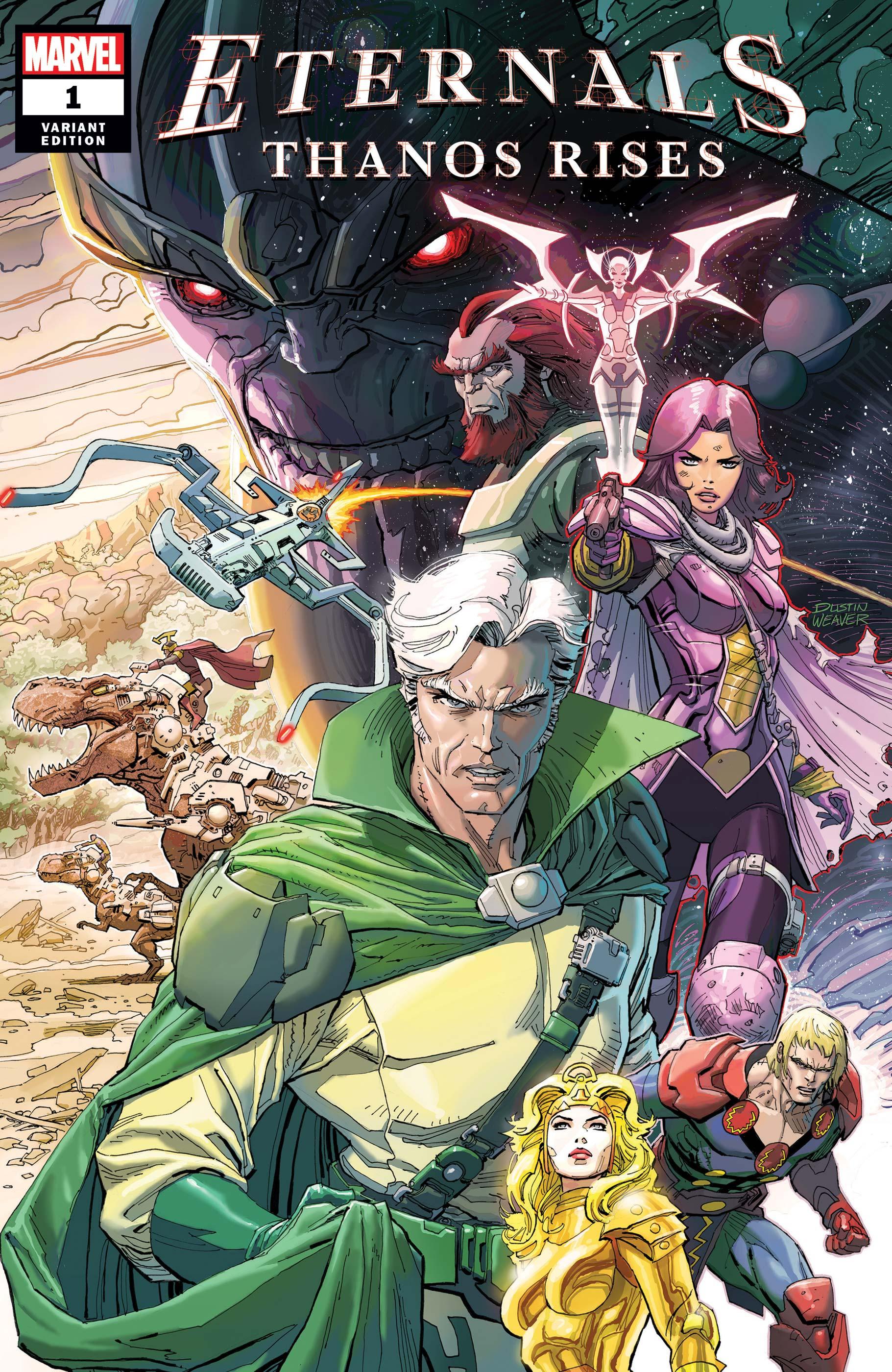 Eternals: Thanos Rises (2021) #1 (Variant)