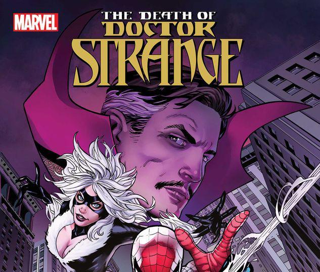 DEATH OF DOCTOR STRANGE: SPIDER-MAN 1 #1