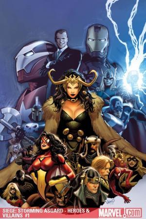 Siege: Storming Asgard - Heroes & Villains (2009)