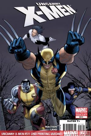 Uncanny X-Men (1963) #511 (2ND PRINTING VARIANT)